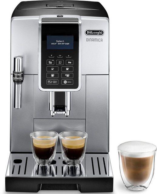 Delonghi De Longhi Kaffeevollautomat Dinamica ECAM 350.35.SB, Sensor-Bedienfeld
