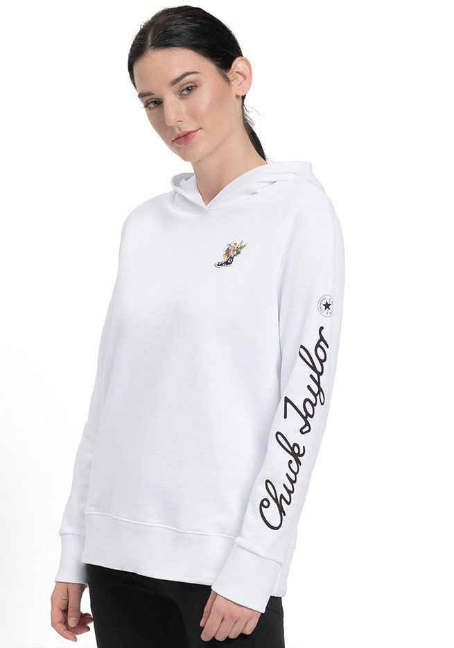 Converse Kapuzensweatshirt »CHUCK FLOWERS WOMENS HOODIE«