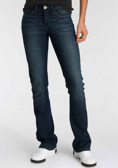 Arizona Bootcut-Jeans »Baby-Boot« Mid Waist