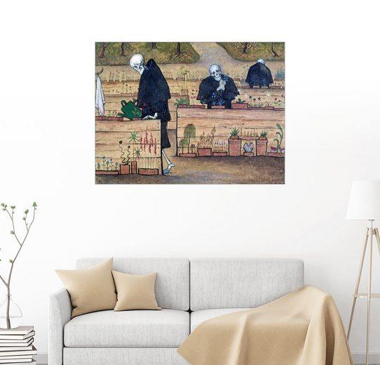 Posterlounge Wandbild, Der Garten des Todes