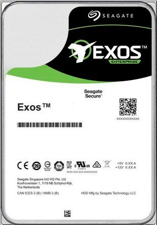 "Seagate »Exos X16« HDD-NAS-Festplatte 3,5"" (16 TB)"