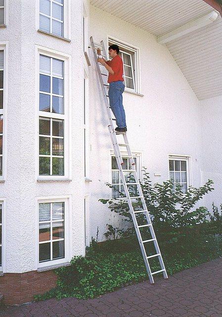 KRAUSE Schiebeleiter »CORDA«| 2x8 Sprossen | Baumarkt > Leitern und Treppen > Schiebeleiter | KRAUSE