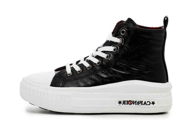 Cafe Noir »Cafe Noir Sneaker black DM9250« Schnürboots