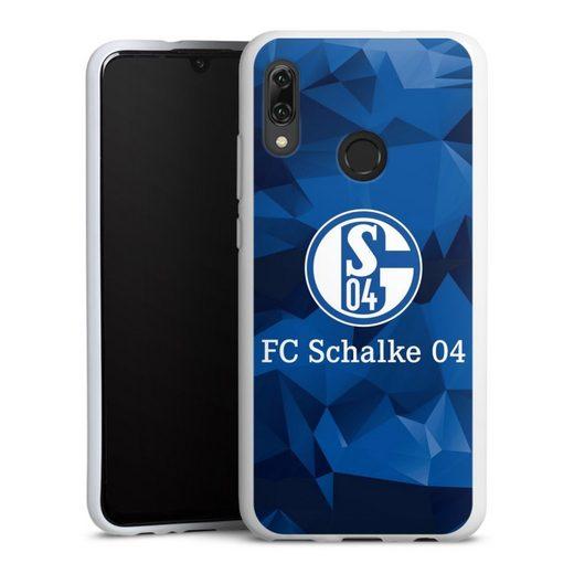 DeinDesign Handyhülle »Schalke 04 Camo« Huawei Honor 10 Lite, Hülle FC Schalke 04 Muster Offizielles Lizenzprodukt