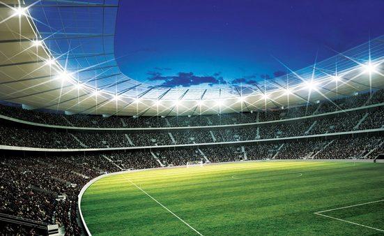 Consalnet Fototapete »Sport Fußballstadion«, glatt, Motiv