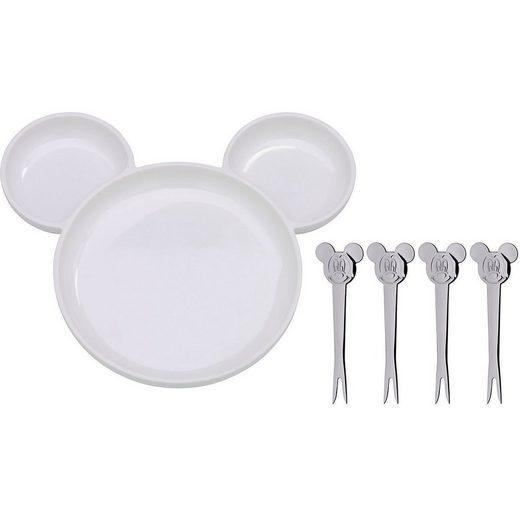 WMF Kinderbesteck »Dining-Set Mickey Mouse, 5-tlg.«