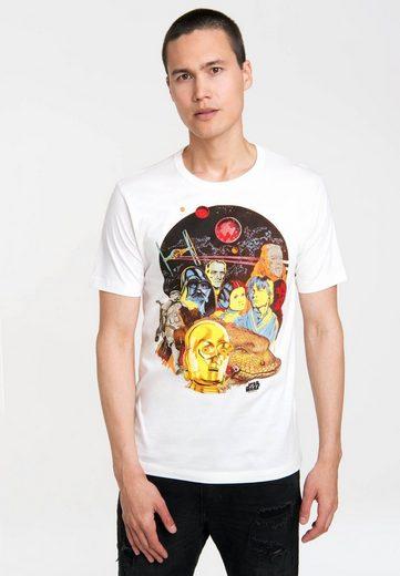 LOGOSHIRT T-Shirt mit hochwertigem Siebdruck »Star Wars«