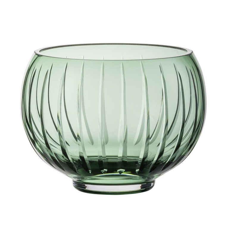 Zwiesel Glas Windlicht »Signum Smoky Green«, handgefertigt
