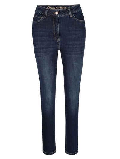 Mona 7/8-Jeans mit schmal zulaufendem Bein
