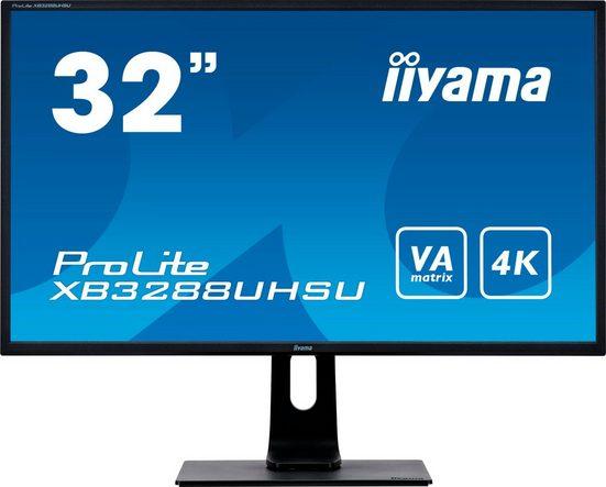 """Iiyama ProLite XB3288UHSU-B1 Gaming-Monitor (81,3 cm/31,5 """", 3840 x 2160 Pixel, 4K Ultra HD, 3 ms Reaktionszeit, 60 Hz, VA LCD)"""
