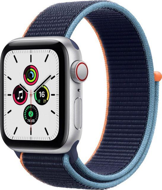 Smartwatches - Apple SE GPS Cellular, Aluminiumgehäuse mit Sport Loop 40mm Smartwatch (Watch OS 6), inkl. Ladestation (magnetisches Ladekabel)  - Onlineshop OTTO