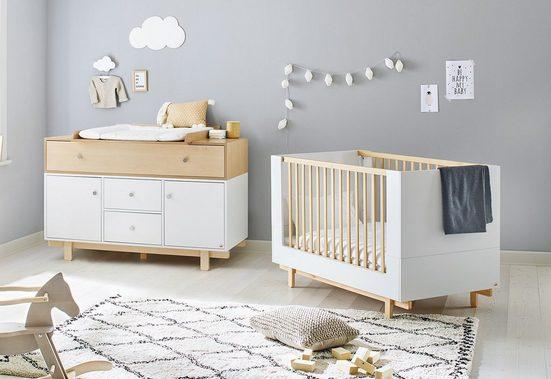Pinolino® Babymöbel-Set »Boks«, (Spar-Set, 2-tlg), extrabreit