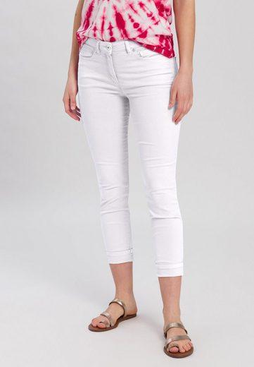MARC AUREL 5-Pocket-Jeans aus nachhaltigen Fasern