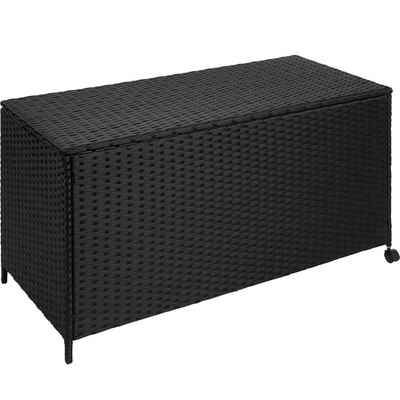 tectake Gartenbox »Auflagenbox mit Aluminiumgestell, rollbar,«