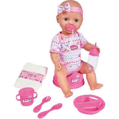 SIMBA Babypuppe »New Born Baby mit Schlafaugen, 43 cm, Babypuppe«