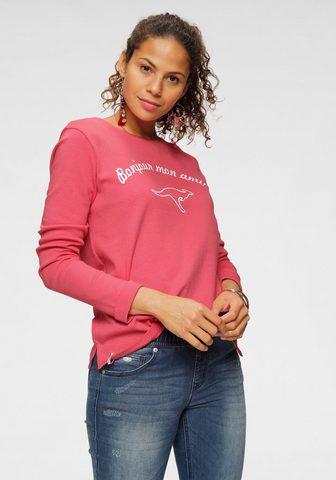 KangaROOS Sportinio stiliaus megztinis su auffäl...
