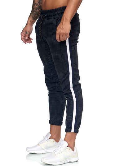 OneRedox Jogginghose »1226C« (Sporthose Trainingshose Sweatpants, 1-tlg., im modischem Design) Fitness Freizeit Casual