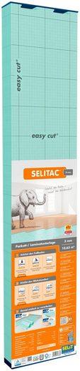 Selit Trittschalldämmplatte »SELITAC«, 3 mm, 10,63 m², für Parkett-/Laminatböden, faltbar