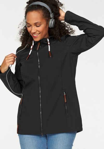 Ocean Sportswear Softshelljacke in großen Größen