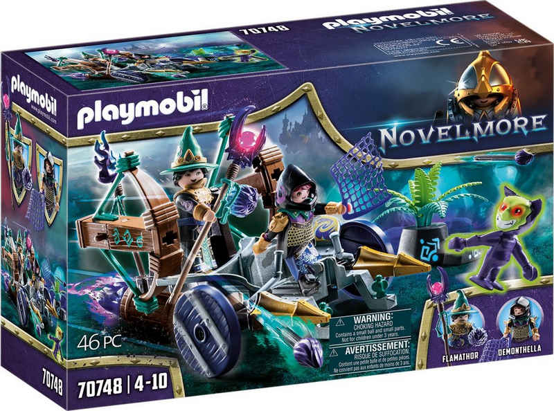 Playmobil® Konstruktions-Spielset »Violet Vale - Dämonen-Fangwagen (70748), Novelmore«, (46 St), Made in Germany