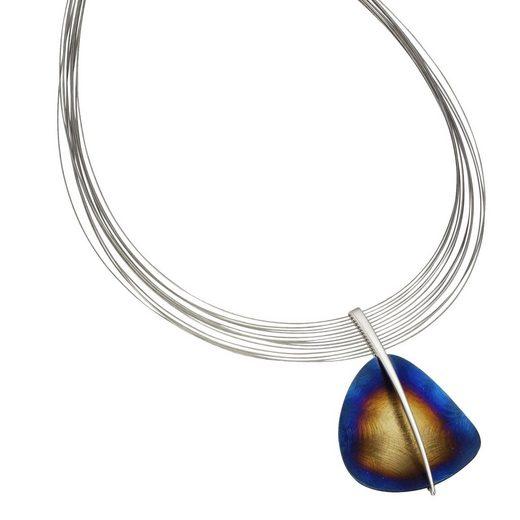 Vivance Collier »925/- Sterling Silber rhodiniert + Stahl«