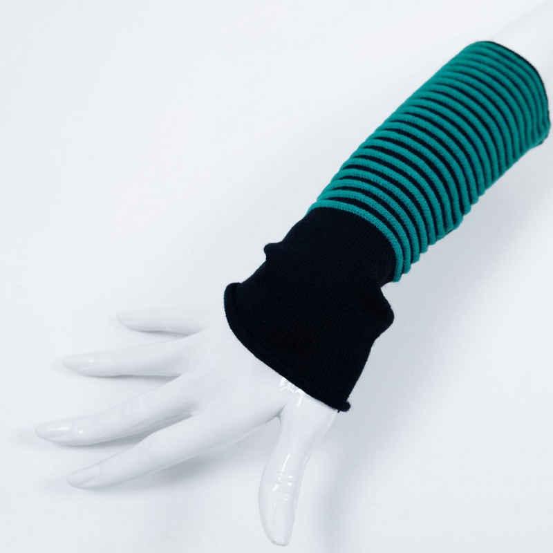 BEAZZ Armstulpen »Stulpen Damen, Pulswärmer, 100% WOLLE (Merino),« (1 Paar) warm und weich