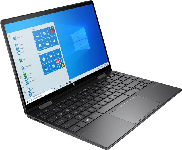 HP ENVY x360 Convert 13-ay0477ng Notebook 33,8 cm 13,3 Zoll, AMD Ryzen 7, Radeon, 512 GB SSD, Kostenloses Upgrade auf Windows 11, sobald verfügbar