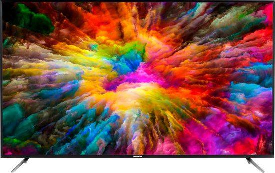 Medion® X17576 (MD 31575) LED-Fernseher (189,3 cm/75 Zoll, 4K Ultra HD, Smart-TV, mit LED-Backlight Technologie)