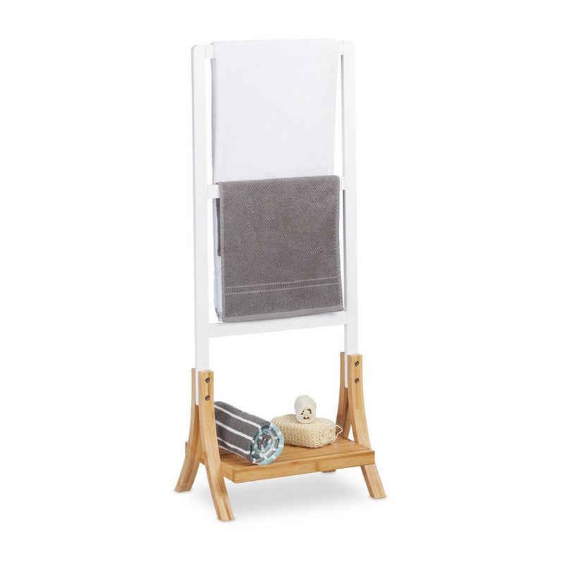 relaxdays Handtuchständer »Handtuchhalter stehend dreiarmig«