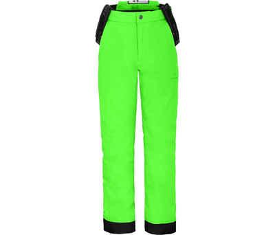 Bergson Skihose »PELLY« Kinder Skihose, wattiert, 20000 mm Wassersäule, Normalgrößen, Gecko grün