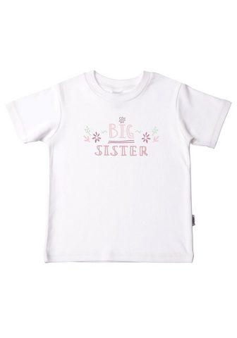 Liliput Marškinėliai »Big Sister« iš ekologišk...