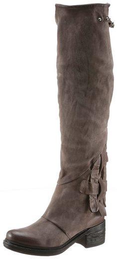 A.S.98 »NOVA17« Stiefel mit modischen Durchzügen
