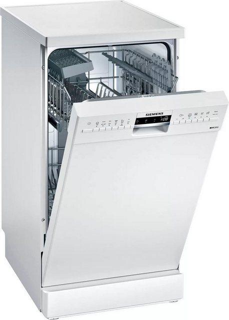 Küchengroßgeräte - SIEMENS Standgeschirrspüler iQ300, SR23EW28KE, 9 Maßgedecke  - Onlineshop OTTO