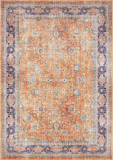 Teppich »Keshan Maschad«, ELLE DECORATION, rechteckig, Höhe 5 mm, Orient-Optik, Wohnzimmer