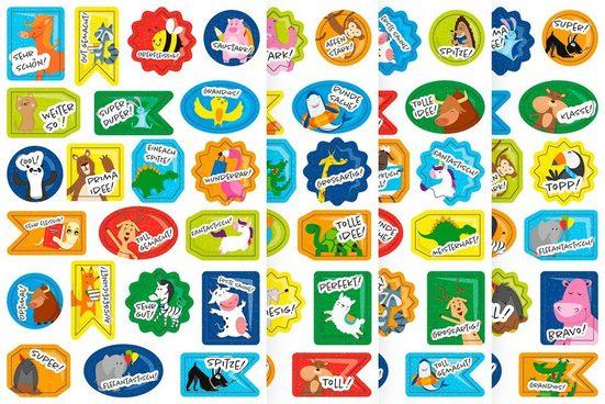 URSUS Sticker »Belohnung«, 84 Stück