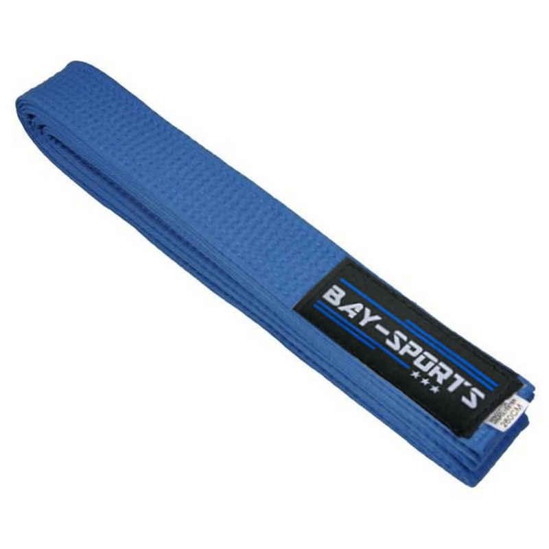BAY-Sports Karateanzug »Budogürtel Karategürtel Kampfsportgürtel blau«, Judogürtel, Taekwondogürtel, Länge 160 cm - 350 cm