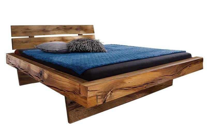 SAM® Holzbett »Baffin«, aus massiver Fichte einzigartige Optik