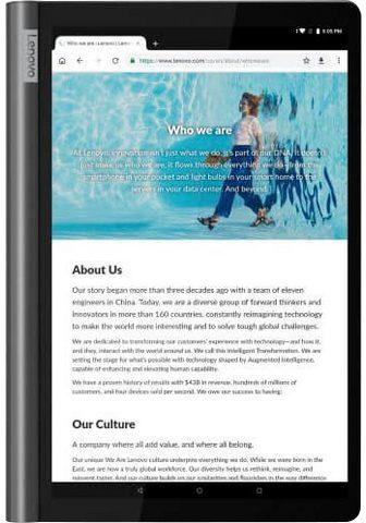 Lenovo YT-X705F Tablet (101