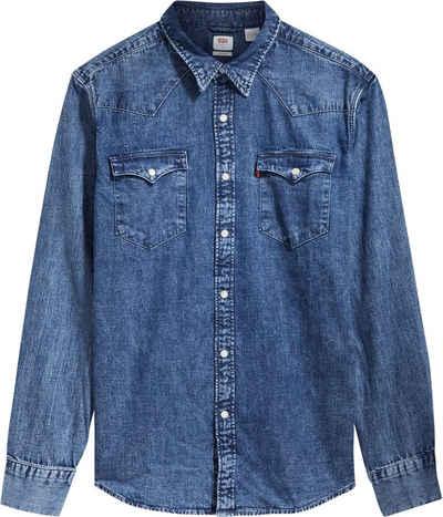 Levi's® Langarmhemd »BARSTOW WESTERN STAND« mit Brusttaschen