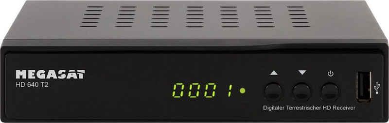 Megasat »HD 640T2« DVB-T2 HD Receiver (DVB-T 2 HD Receiver für frei empfangbare Sender)