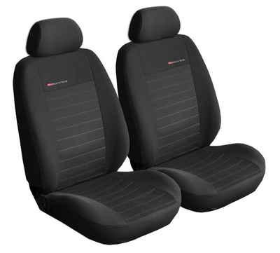Carpendo Autositzbezug »Elegance 1+1«, Universelle Sitzbezüge für Vordersitze