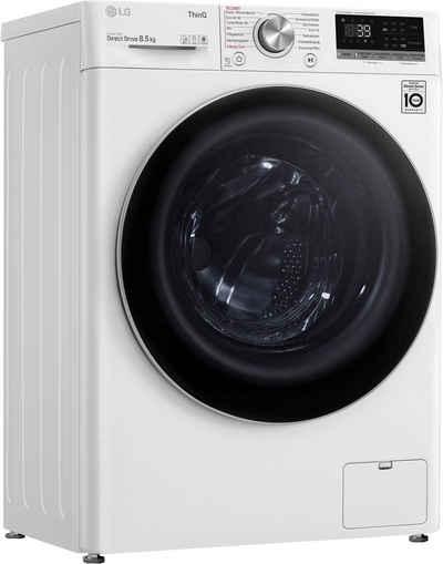 LG Waschmaschine F2V7SLIM8E, 8,5 kg, 1200 U/min
