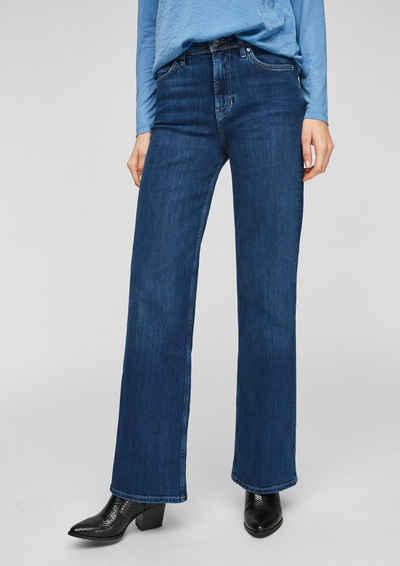 s.Oliver 5-Pocket-Jeans »Regular Fit: Wide leg-Jeans«