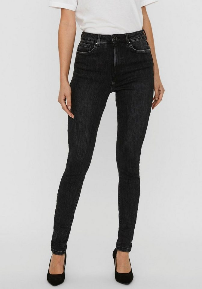 vero moda -  High-waist-Jeans »VMLOA HR SKINNY«