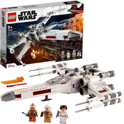 LEGO® Konstruktionsspielsteine »Luke Skywalkers X-Wing Fighter™ (75301), LEGO® Star Wars™«, (474 St), Made in Europe