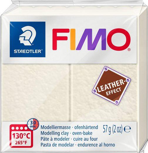 FIMO Modelliermasse »Fimo Leder-Effect«, 57 g