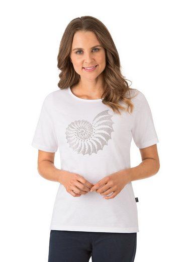 Trigema T-Shirt mit Glitzermotiv