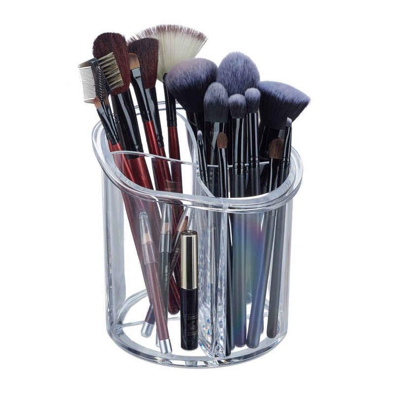relaxdays Make-Up Organizer »Pinselhalter Acryl«