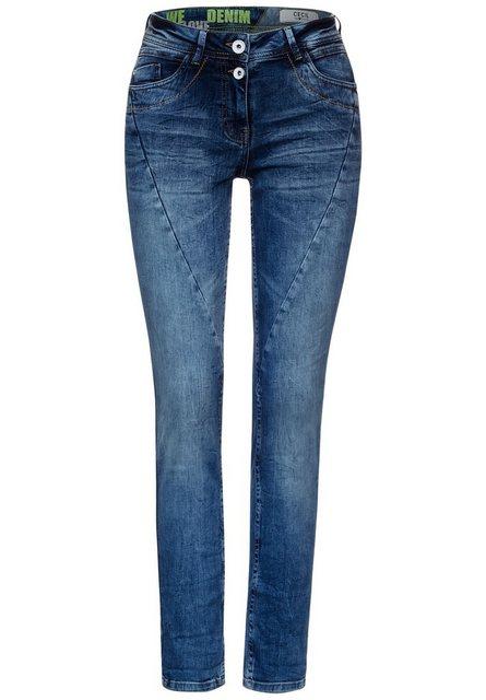 Hosen - Cecil Slim fit Jeans 5 Pockets Style ›  - Onlineshop OTTO