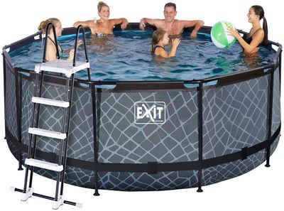 EXIT Framepool (Set), ØxH: 360x122 cm, mit Kartuschenfilter